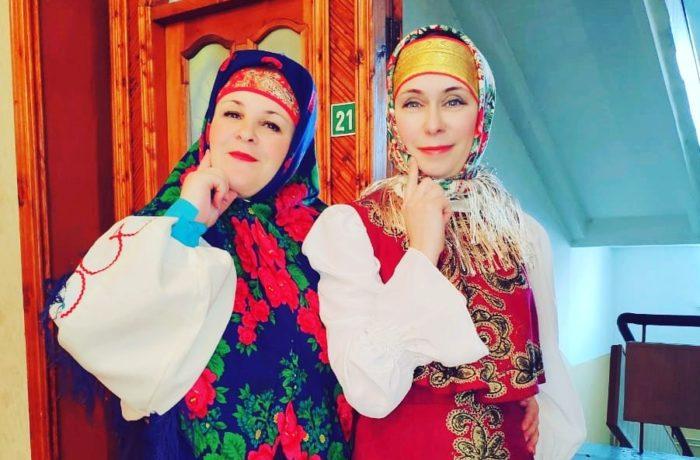 Юлия Евстифеева и Светлана Белая: